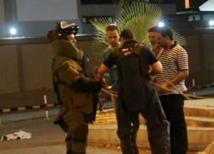"""عاجل  """"المفرقعات"""" تمشط شارع محيي الدين بالدقي بعد بلاغ بوجود جسم غريب"""