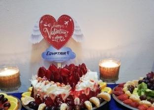 """""""ورد وشيكولاتة وتخفيضات"""".. مصر للطيران تحتفل مع عملائها بـ""""عيد الحب"""""""