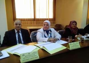 بالصور| إجراء مقابلات شخصية لـ24 متقدما لوظيفة مدير مدرسة بكفر الشيخ