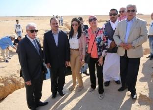 وزيرة السياحة تشارك في احتفالية تطوير محمية رأس محمد بمدينة شرم الشيخ