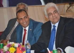 حسام بدراوي من الصعيد: أنتم أهل الحضارة والكرم وبداية صناعة جيل جديد