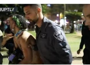 بالفيديو| شرطة الاحتلال تعتقل 15 شخصا في مهرجان الموسيقى بتل أبيب