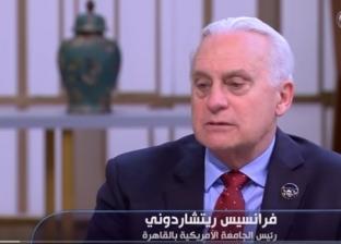 رئيس الجامعة الأمريكية عن أزمة كورونا: نصف طلابنا فضلوا البقاء في مصر