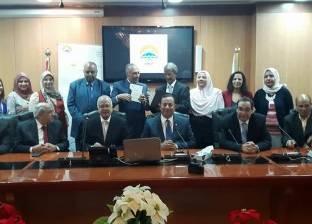 رئيس جامعة المنوفية يوقع اتفاقية تعاون مع جامعة 6 أكتوبر
