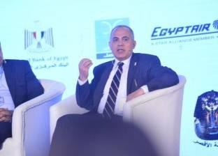 """وزير الري يعرض تقرير تطهير الترع والمصارف باجتماع """"المحافظين"""""""
