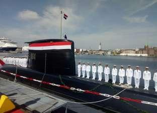 البحرية المصرية تتسلم الغواصة الألمانية الثانية