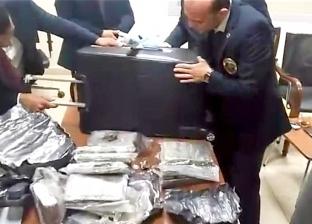 جمارك مطار القاهرة تحبط تهريب كمية كبيرة من مخدر الكوكايين