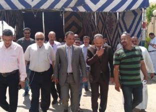 رئيس جهاز مدينة بدر يطمئن على سير العمل بقافلة طبية لسكان المدينة