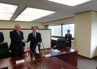 النائب العام يوقع مذكرة تعاون قضائي مع نظيره الياباني