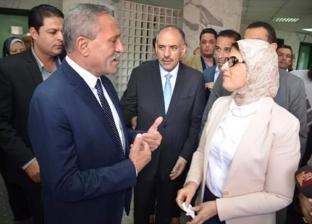 وزيرة الصحة فى زيارة لـ3 محافظات: تجهيز مستشفيات بورسعيد استعداداً لـ«التأمين الصحى الشامل»