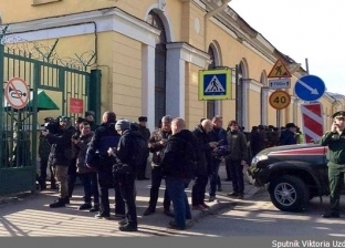 3 جرحي في انفجار عبوة ناسفة داخل أكاديمية عسكرية بروسيا