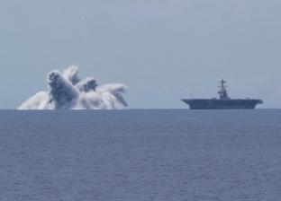 فيديو يرصد انفجار وسط المحيط.. قنبلة تسببت في زلزال امتد لـ160 كيلومتر