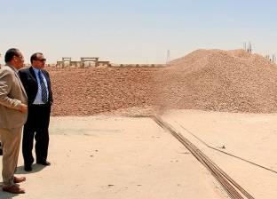 رئيس جامعة بني سويف يوجه بسرعة الانتهاء من المشروعات الجديدة