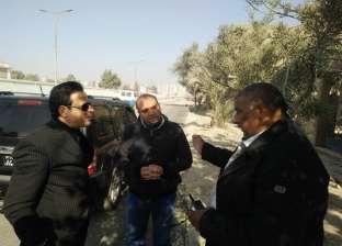 نائب محافظ القاهرة يتفقد تطوير ميدان السيدة عائشة