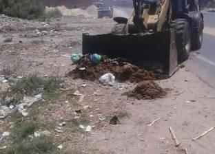 رئيس مدينة دمياط يوجه بسرعة إزالة مخلفات ذبح الأضاحي وتطهير الشوارع
