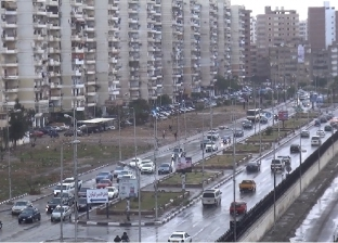 سقوط أمطار غزيرة بالسويس وإصابة 5 في انقلاب سيارة بـ«العين السخنة»