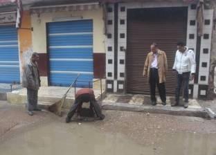 غياب في صفوف تلاميذ المدارس بالعريش بسبب الأمطار
