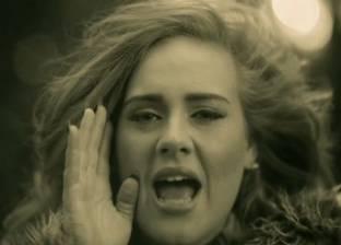 """ألبوم """"أديل"""" يحطم الأرقام القياسية في الولايات المتحدة"""