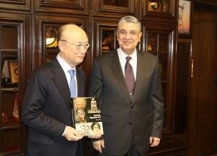 وزير الكهرباء يلتقي مدير الوكالة الدولية للطاقة الذرية