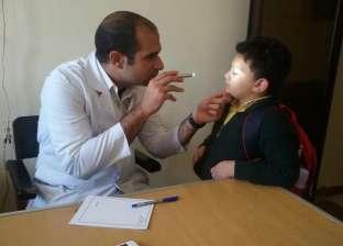 """""""التضامن"""" تنظم قافلة طبية للكشف على الأطفال المصابين بالصمم في جنوب سيناء"""