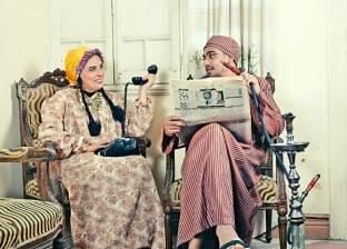 «سى إسلام» و«أمنية» فى جلسة تصوير بروح الخمسينات