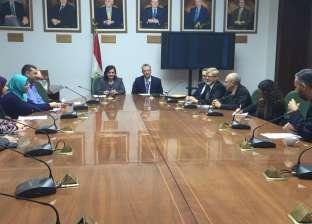 وزير الزراعة يبحث مع سفير نيوزيلندا في مصر سبل التعاون