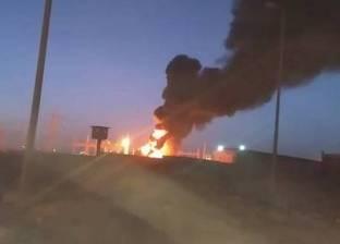 """النيابة تعاين موقع حريق """"محول الشيخ زايد"""".. وتنتدب المعمل الجنائي"""