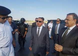 بالصور| مدير أمن الإسكندرية يتفقد استاد برج العرب
