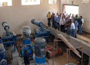 رئيس مدينة أبو قرقاص بالمنيا يناقش معوقات تشغيل محطات مياه الشرب