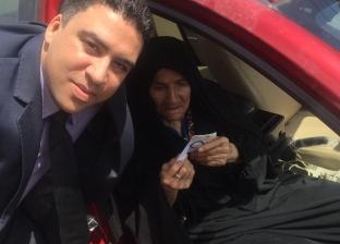عمرها 108 أعوام.. معمرة مصرية تدلي بصوتها في الاستفتاء بالإسماعيلية