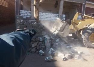 إزالة 3536 حالة تعد على أملاك الدولة خلال 10 أيام في المنيا