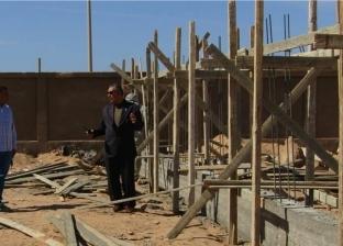 رئيس مدينة أبورديس يتابع رفع كفاءة المباني المستردة من شركات البترول