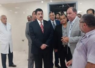 محافظ القليوبية: جدول زمني لإنهاء تطوير وتجديد مستشفى كفرشكر