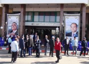 صور «السيسى» و«عبدالناصر» فى الاحتفال بذكرى افتتاح السد العالى