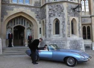 """لوحة سيارة الأمير هاري وماركل في حفل الزفاف """"تحمل سرا"""".. تعرف عليه"""