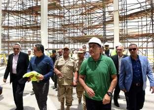تفاصيل تفقد رئيس الوزراءأعمال تنفيذالمتحفالمصري الكبير