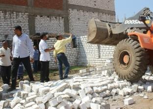 الري: إزالة 357 حالة تعدي على نهر النيل ومنافع الري على مدى يومين