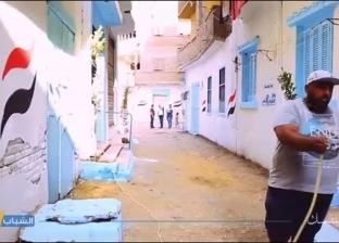 """""""الشباب يقدر"""" تطلق مبادرة شعبية لتجميل مناطق سكنية في المحلة"""