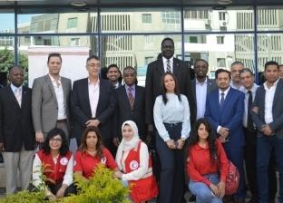 بحضور سفراء 8 دول.. انطلاق أول قافلة طبية للجاليات الأفريقية