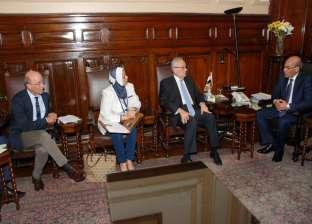 """""""البنا"""" يبحث مع سفير إيطاليا بالقاهرة سبل التعاون الزراعي بين البلدين"""
