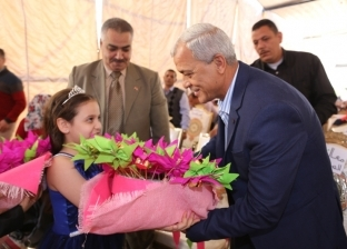 بالصور| محافظ المنوفية يشهد احتفالات أعياد الطفولة بمدرسة بشبين الكوم