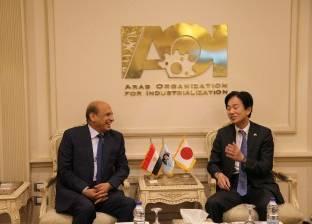 رئيس «العربية للتصنيع» يستقبل وفدا من «ميتسوبيشي» لفتح آفاق للتعاون