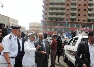 إزالة إشغالات الطريق في حي وسط الإسكندرية