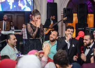 بالصور| مي سليم تحيي حفل زفاف بأحد فنادق القاهرة