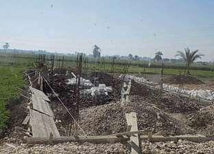 الشرطة والوحدة المحلية يوقفون التعدي على الأراضي الزراعية في دمياط