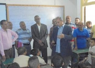 """""""تعليم المنيا"""" تتخذ إجراءات لسد عجز المعلمين في مدارس المحافظة"""