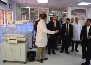 """""""عبد الجابر"""" يأمر بنقل حالات مرضية من مستشفى ناصر لـ""""بني سويف"""" العام"""