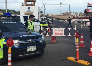 """مدير الشرطة المتخصصة يتفقد قوات تأمين """"العربي-الأرووبي"""" بشرم الشيخ"""