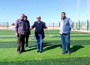 بالصور| رئيس مدينة رأس سدر يتفقد الإنشاءات الجديدة بمركز شباب المدينة