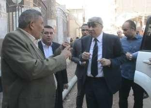 محافظ المنيا يقيل رئيس قرية الروضة بسبب عقار مخالف وسوء الخدمات